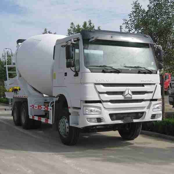 10m³ Diesel 10 Wheelers Concrete Mixer Truck 6x4 With 371HP 25000KG